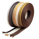 Pile Draught Excluder Brown